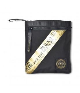 Sacoche Versace Jeans Couture noir - 71YA4B75 - RANGE WARRANTY TAPE, SKETCH 6 BAGS CORDURA