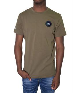 Tshirt Helvetica kaki- AJACCIO H500 KAKI