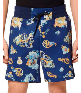 Short Versace Jeans Couture bleu - A4GWA122 - WUP322 PRINT CAMEO