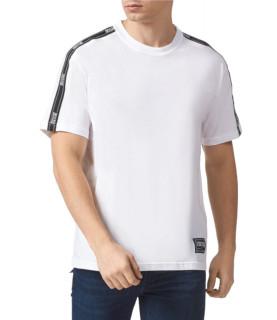 Tshirt Versace Jeans Couture blanc - B3GWA7R2 - WUP601co REG TAPE LOGO