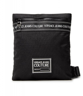 Sacoche Versace Jeans Couture noir - 71YA4B44 RANGE BRAND STRIPE, SKETCH 5