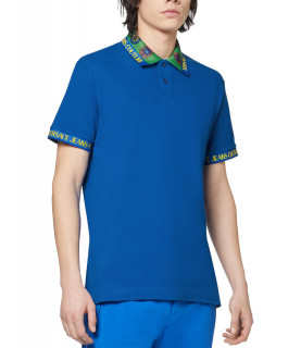 Polo Versace Jeans Couture bleu - 71GAGT09 - 71UP622 R BIJOUX