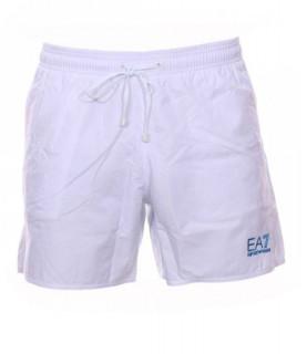 Short de bain EA7 blanc - 902000 5P726