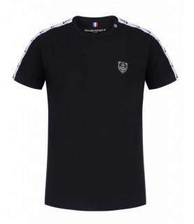 T-shirt HORSPIST noir - POGGY-M519 BLACK