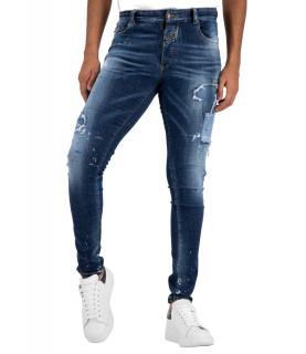 Jeans Boragio bleu 7417
