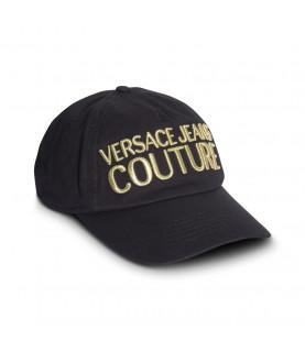 Casquette Versace Jeans Couture noir - 71GAZK10- BASEBALL CAP WITH PENCES