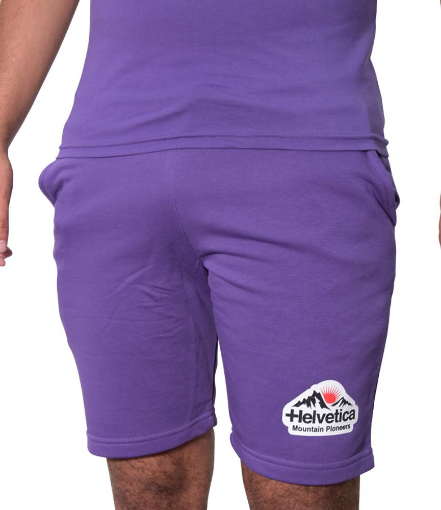 Short Helvetica purple - WARREN2 PURPLE