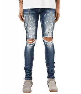 Jeans Redhouse bleu - RH TZ01