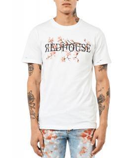 Tshirt Redhouse Blanc - RH TS 100
