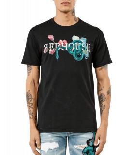 Tshirt Redhouse noir- RH TS 104