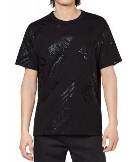 Tshirt Versace Jeans Couture noir - 71GAHT28 - 71UP601 R WARRANTY