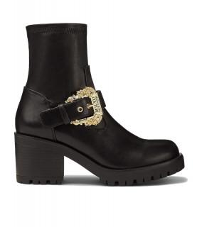 Bottes Versace Jeans Couture noir - 71VA3S92 FONDO MIA DIS. S92
