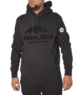 Sweat Helvetica noir - BRUNELLI BLACK