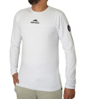 Tshirt Helvetica blanc - MILES WHITE