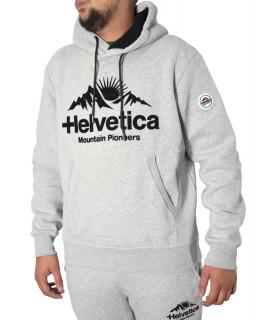 Sweat Helvetica gris - BRUNELLI GREY MEL