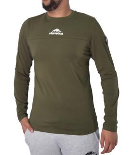 Tshirt Helvetica kaki - MILES KAKI
