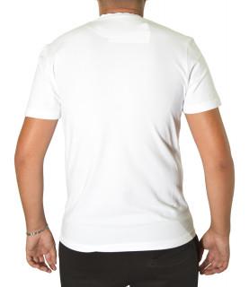 Tshirt Bikkembergs Blanc - C 4 101 47 E 2296 A00