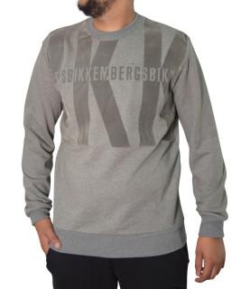 Sweat Bikkembergs gris - C 6 150 08 E 2293 C055