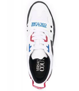 Basket Versace Jeans Couture blanc- 71YA3SC4 - FONDO SPEEDTRACK DIS. SC4
