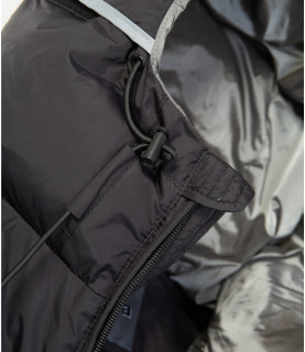 Doudoune sans manches Helvetica noir - SCHUSS BLACK