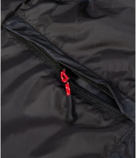 Doudoune sans manches Helvetica noir - ELBERT BLACK ANTH