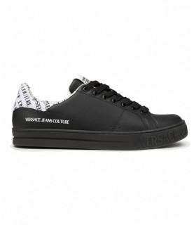Baskets  Versace Jeans Couture noir - 71YA3SK3 FONDO COURT 88 DIS SK3