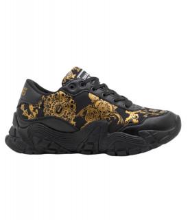 Baskets Versace Jeans Couture noir - 71YA3SH3 FONDO IMPULSE DIS 49
