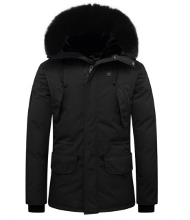 Parka Helvetica noir - EXPEDITION EWARM DARK