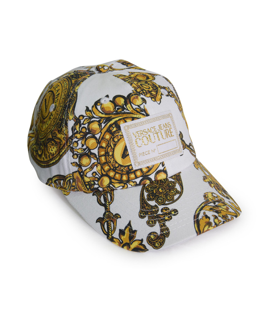Casquette Versace Jeans Couture blanc - 71GAZK18 - BASEBALL CAP WITH CENTRAL SE
