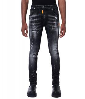 Jeans My Brand noir - RED SPOTS GREY