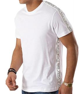 Tshirt Versace Jeans blanc - B3GTB7S1