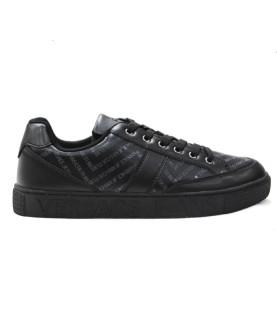 Baskets Versace Jeans Couture noir - LINEA FONDO CASSETTA E0YUBSF6