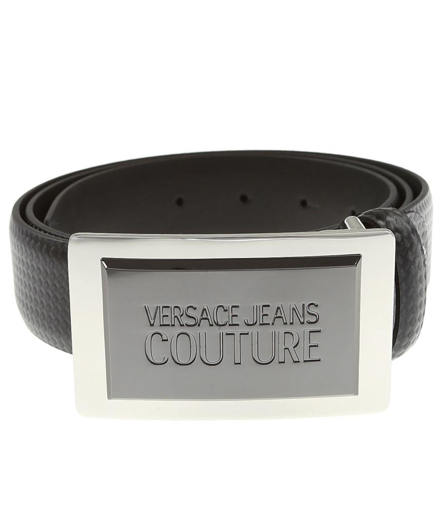 Ceinture Vesace Jeans Couture - D8YUBF31 noir