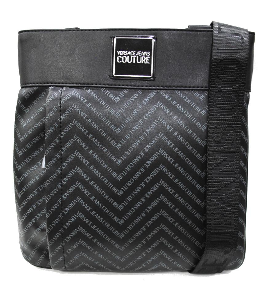 Sacoche Versace Jeans Couture noir - E1YUBB06 LINEA CHEVRON