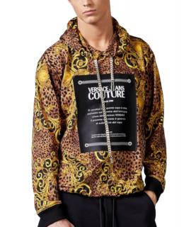 Sweat à capuche Versace Jeans Couture - B7GUA7F4 LEO BAROQUE
