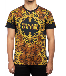 Tee shirt Versace Jeans Couture LEO BAROQUE - B3GUA7DF