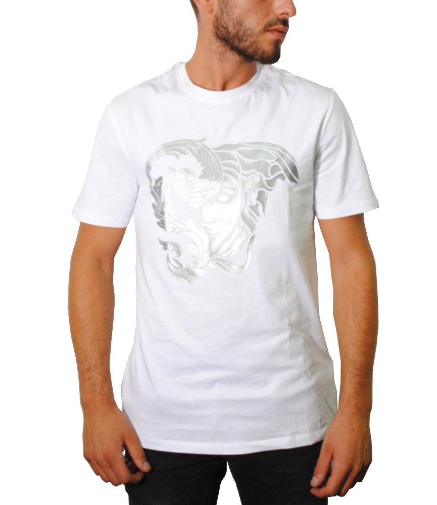 Tshirt Versace Collection blanc - V800683R VJ00612