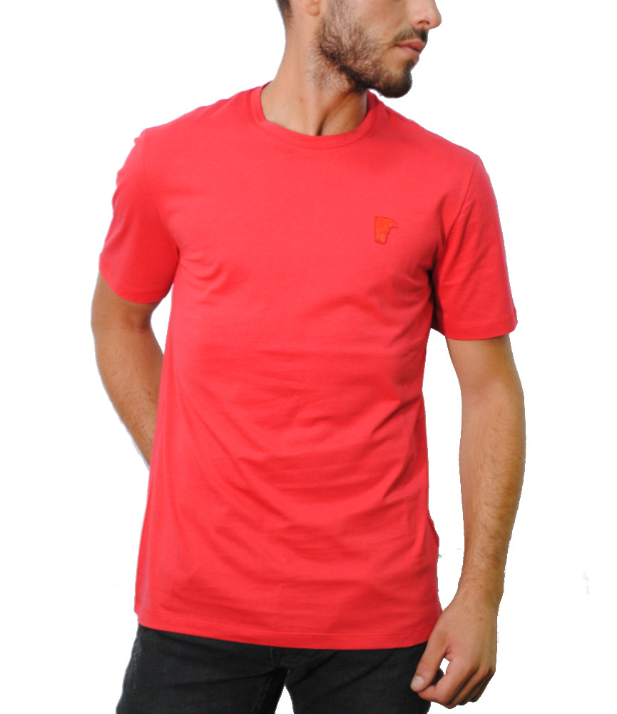 Tshirt Versace Collection rouge - V800683R VJ00180
