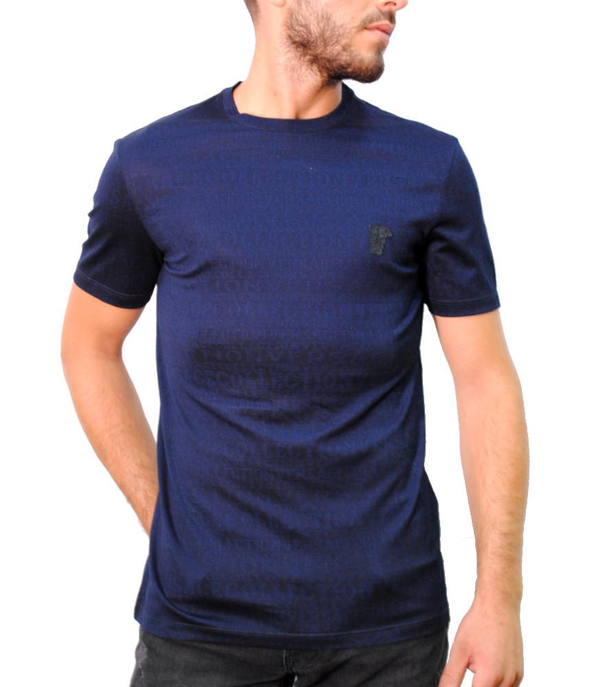 Tshirt Versace Collection marine - V80063R VJ00614