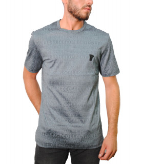 Tshirt Versace Collection gris - V80063R VJ00614