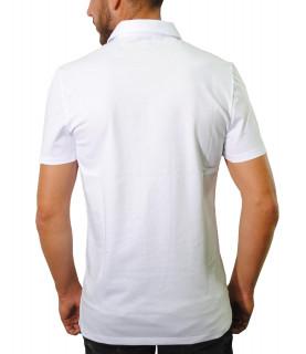 Polo Versace Collection blanc - V800708 VJ00180 V9052