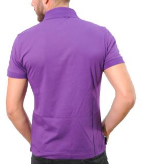 Polo Versace Jeans violet - B3GTA7P9