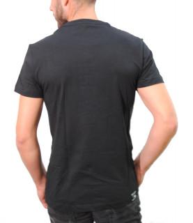 Tshirt Versace Jeans noir - B3GTB74B