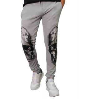 Jogging Philipp Plein gris - S17C MJT0018 PJO002N