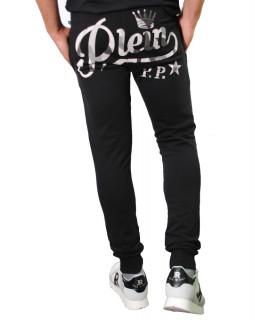 Jogging Philipp Plein strass noir - S17C MJT0018 PJO002N