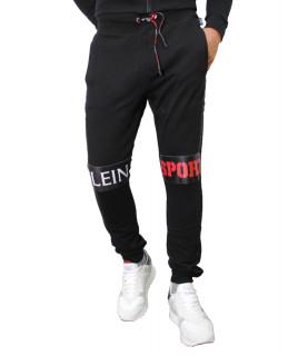 Jogging Plein Sport noir - P17C MJT0123 SJO001N
