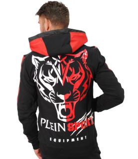 Veste Plein Sport noir/rouge - P17C MJB0076 SJO001N
