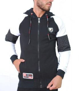 Veste Plein Sport noir/blanc - P17C MJT0097 SJO001N
