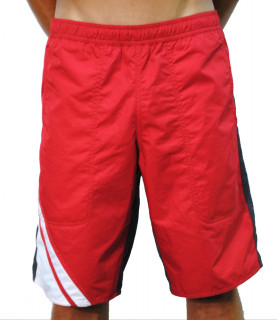 Short de bain long EA7 rouge - 902004 5A721