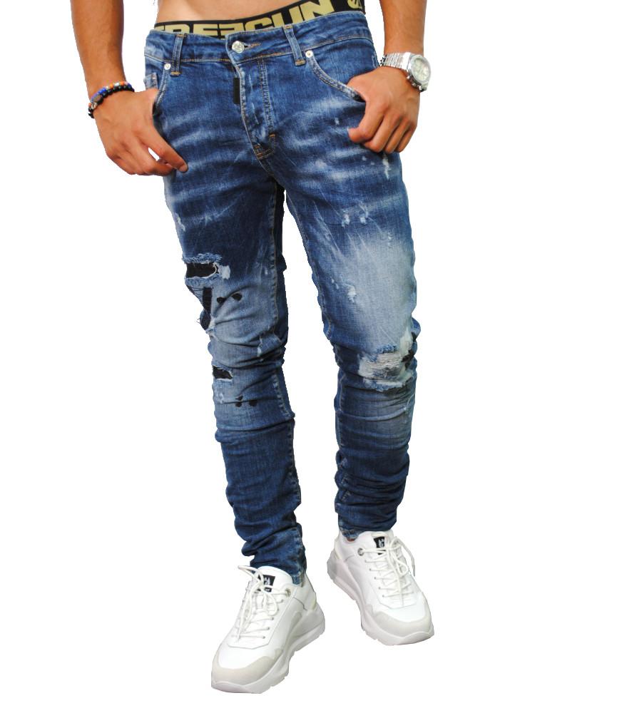 Jeans My brand bleu - MMB JE005 G3116